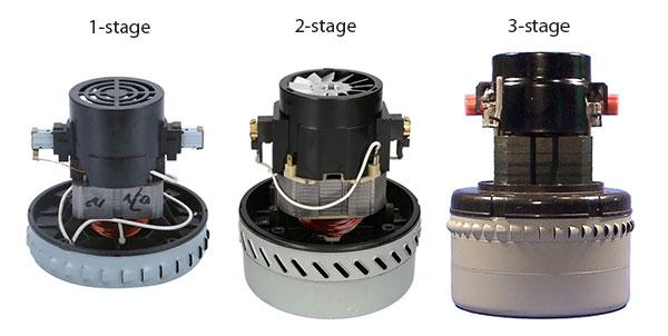 Различия в стадийности турбин
